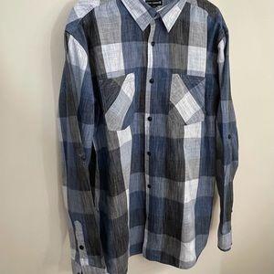 Ocean Current sz XXL men's button down shirt